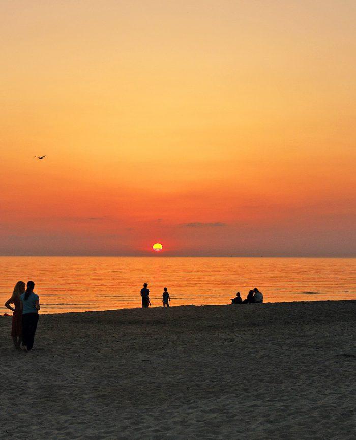 Pajūrio vingis - beach